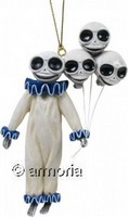 "Figurine Squelette avec Ballons ""Clown Skelly"" par Misty Benson"