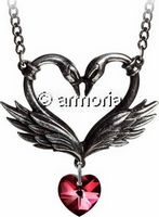 Pendentif The Black Swan Romance