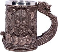 Chope Drakkar Viking aspect bronze