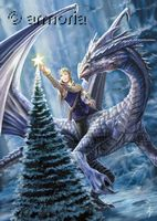 Carte Postale Winter Fantasy de Anne Stokes