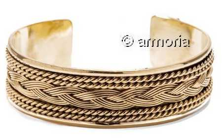 Bracelet Viking grand modèle en bronze