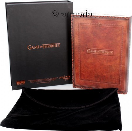 "Cahier Dragon ""Fire and Blood"" Maison Targaryen de Game Of Thrones Licence Officielle"
