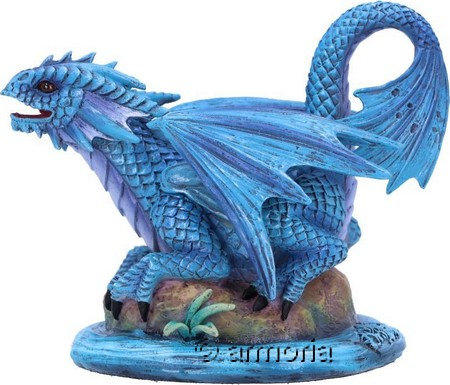"Figurine Bébé Dragon de l'eau ""Water Dragon"" de Anne Stokes"