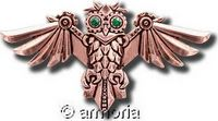 Broche Aviamore Owl