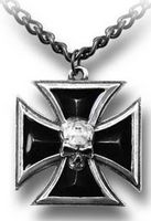 Pendentif Black Knight's Cross