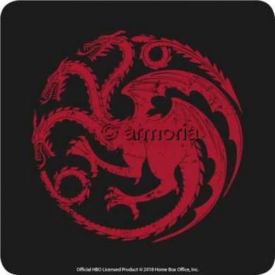 6 Sous-verres Maison Targaryen - Game of Thrones
