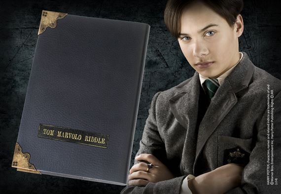 Cahier Journal de Tom Jedusor en cuir - Harry Potter