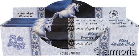 Encens Moonlight Unicorn, coffret de 6 étuis