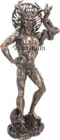Figurine Grand Cernunnos aspect bronze