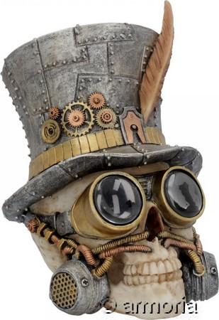 special section amazing price new high Crâne Steampunk Chapeau haut de forme et Googles