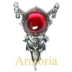 Pendentif Blood Moon Rising
