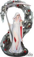 "Figurine Gothique Faucheuse ""Life Blood"" de Anne Stokes"