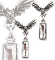 Boucles d'oreilles Chrysler Bat Crystal