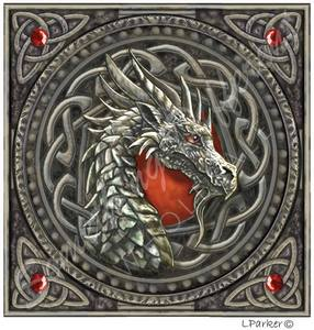 Carte postale Red Dragon Head