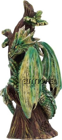 "Figurine Bébé Dragon de la Forêt ""Forest Dragon"" de Anne Stokes"