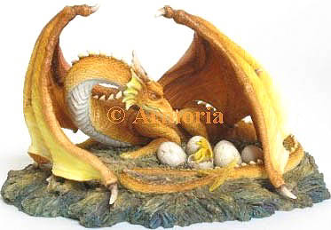 "Figurine Nid de Dragon ""The Brood"""