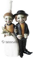 Figurine Couple de Pixies Bretons